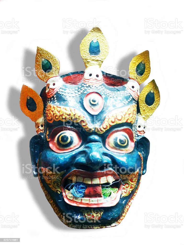 Mask dance royalty-free stock photo
