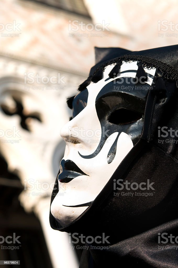 Mask in Venice royalty-free stock photo