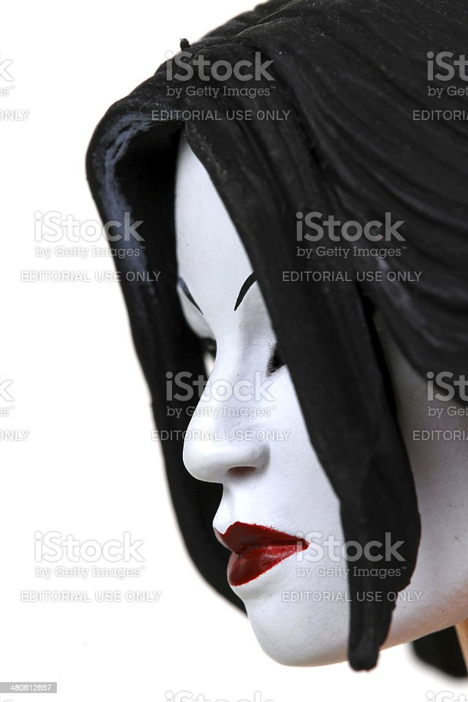 Mask of a Killer royalty-free stock photo