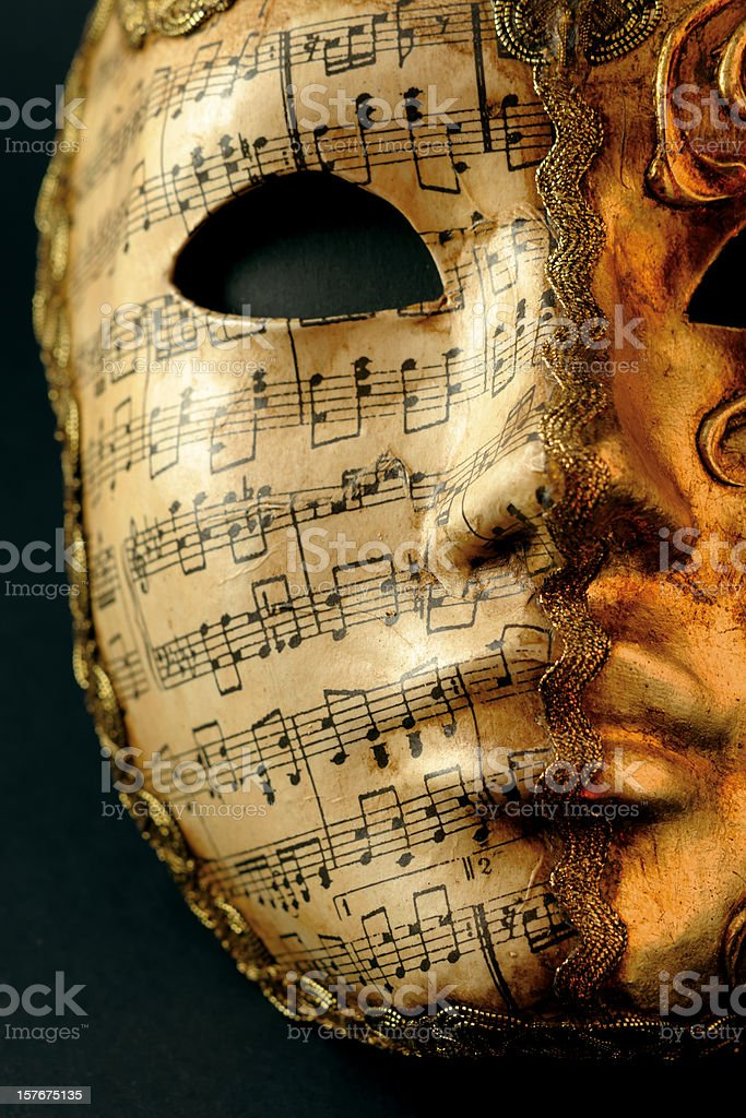 Mask of Carnival royalty-free stock photo