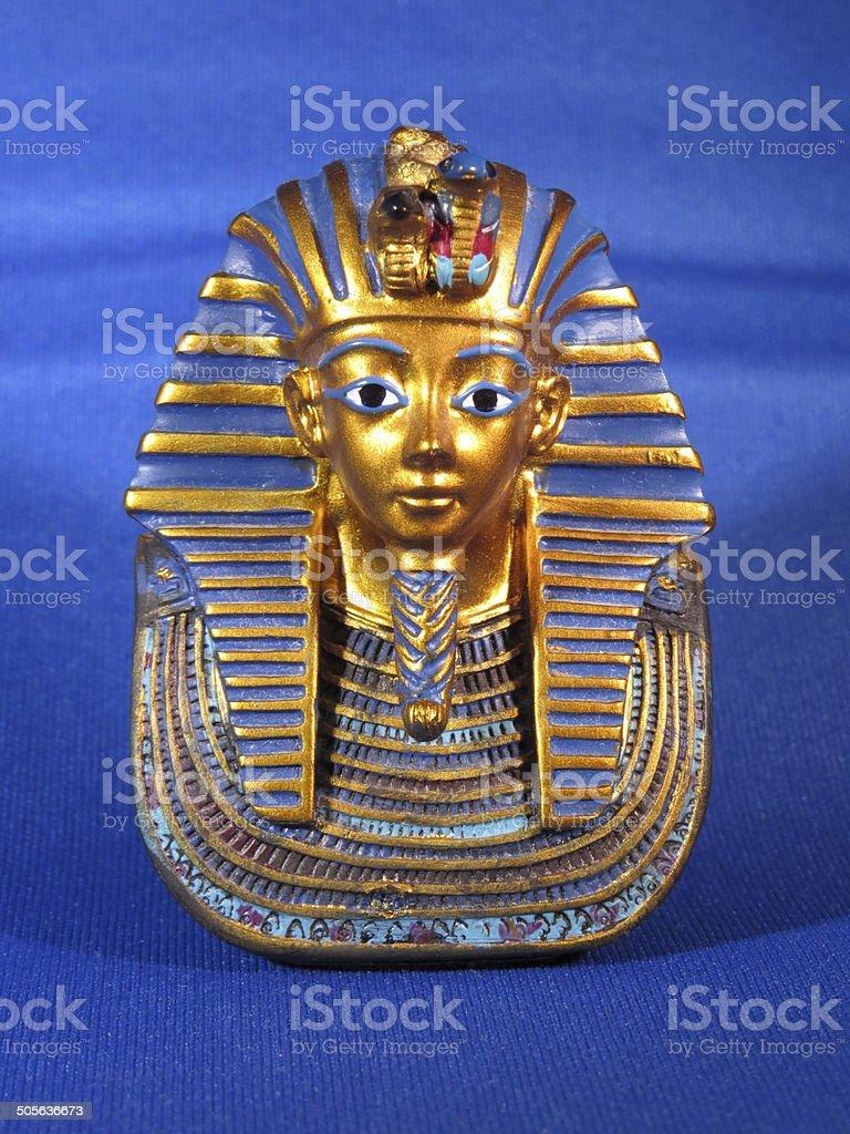 Mask of Tutankhamen stock photo