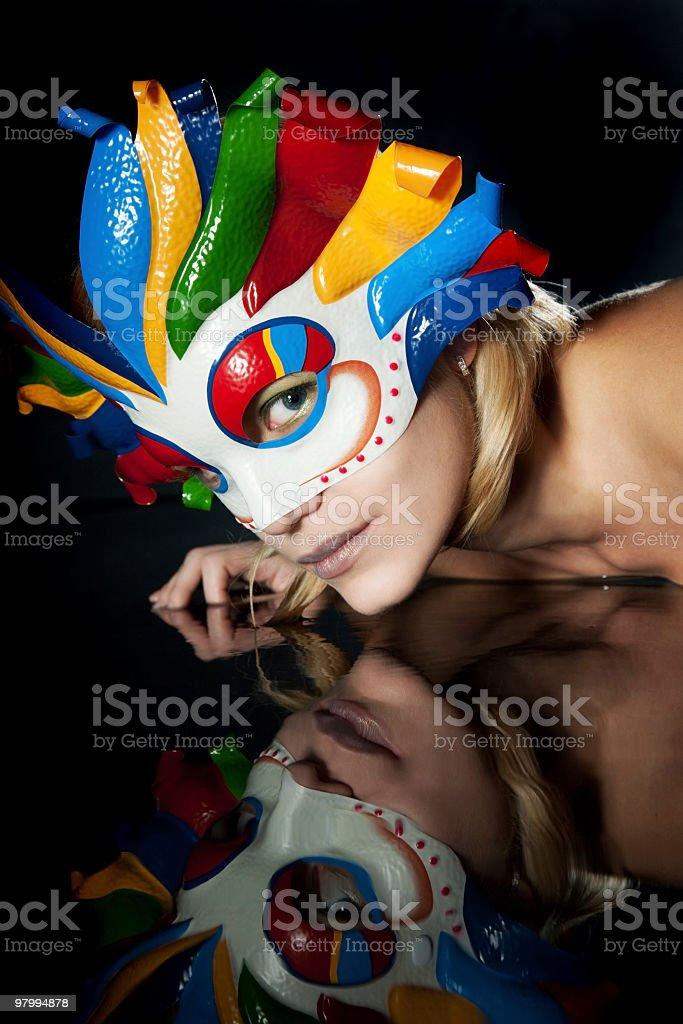 Mask royalty free stockfoto