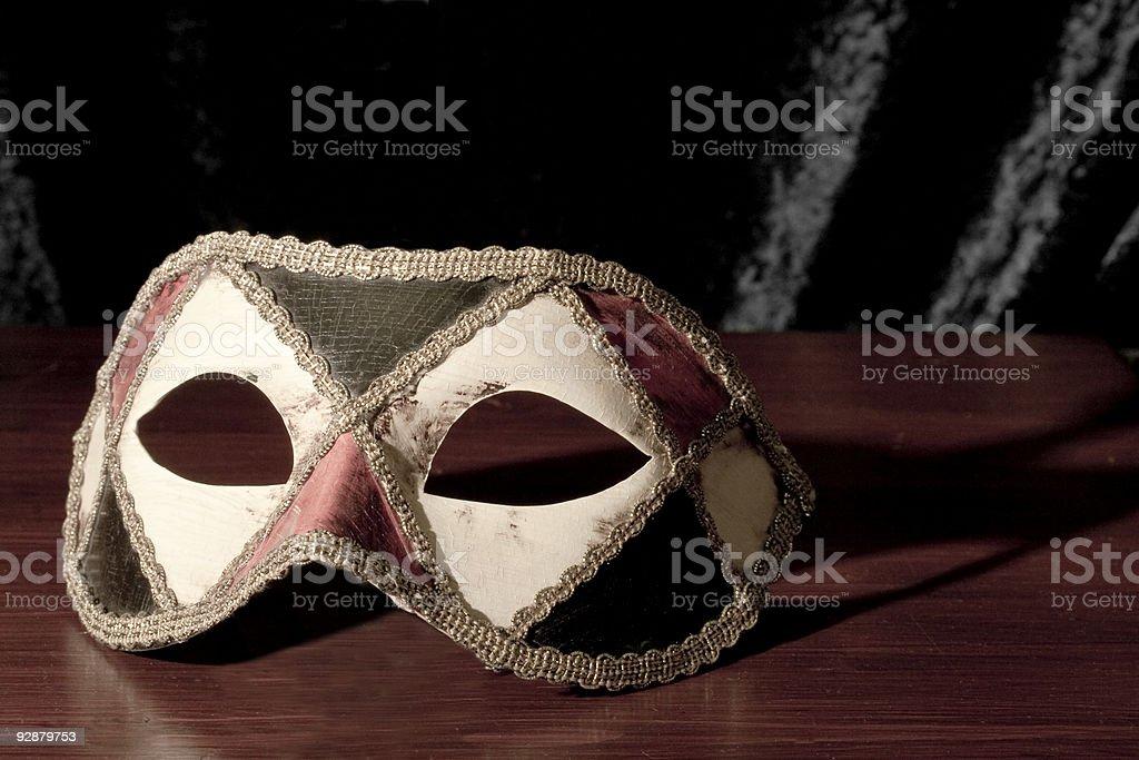Masked Ball, Harlequin Mask and Masquerade royalty-free stock photo