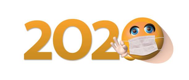 Masked emoji and 2020 logo picture id1223445585?b=1&k=6&m=1223445585&s=612x612&w=0&h=u8g 5d3zxxkp278my 1pktav9zlg3u txxrce ablxa=