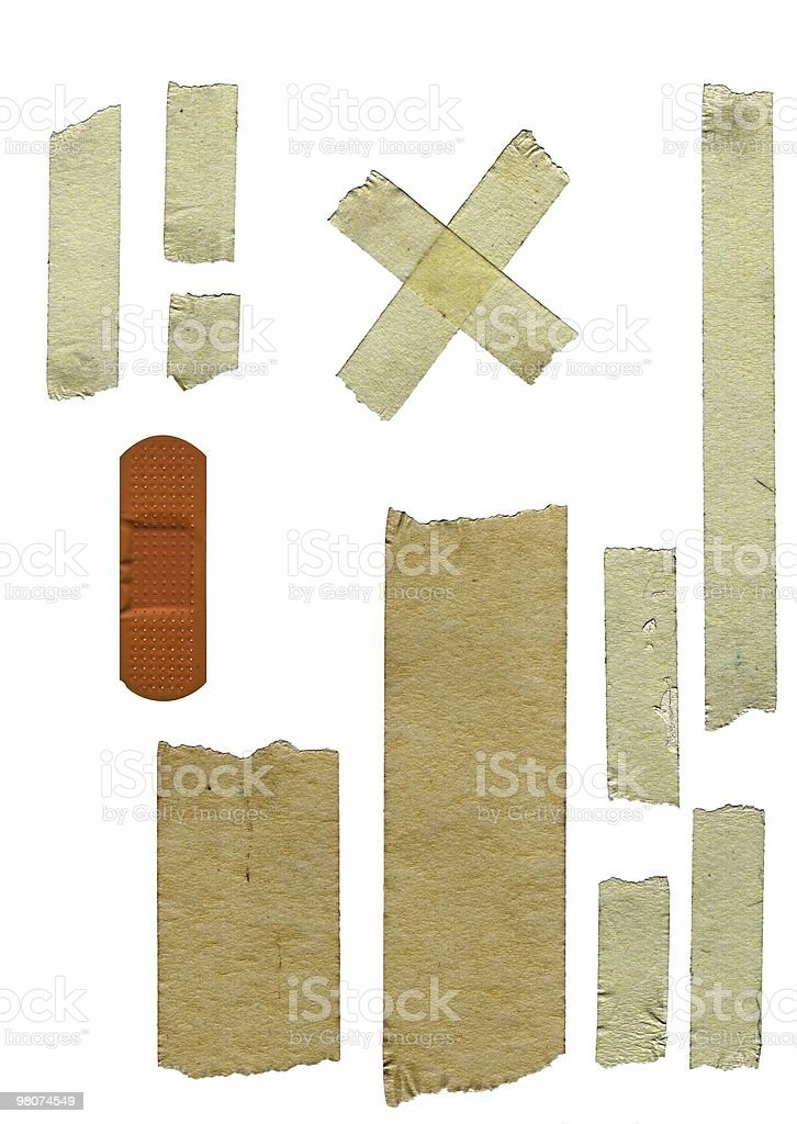 masking grunge  tape royalty-free stock photo