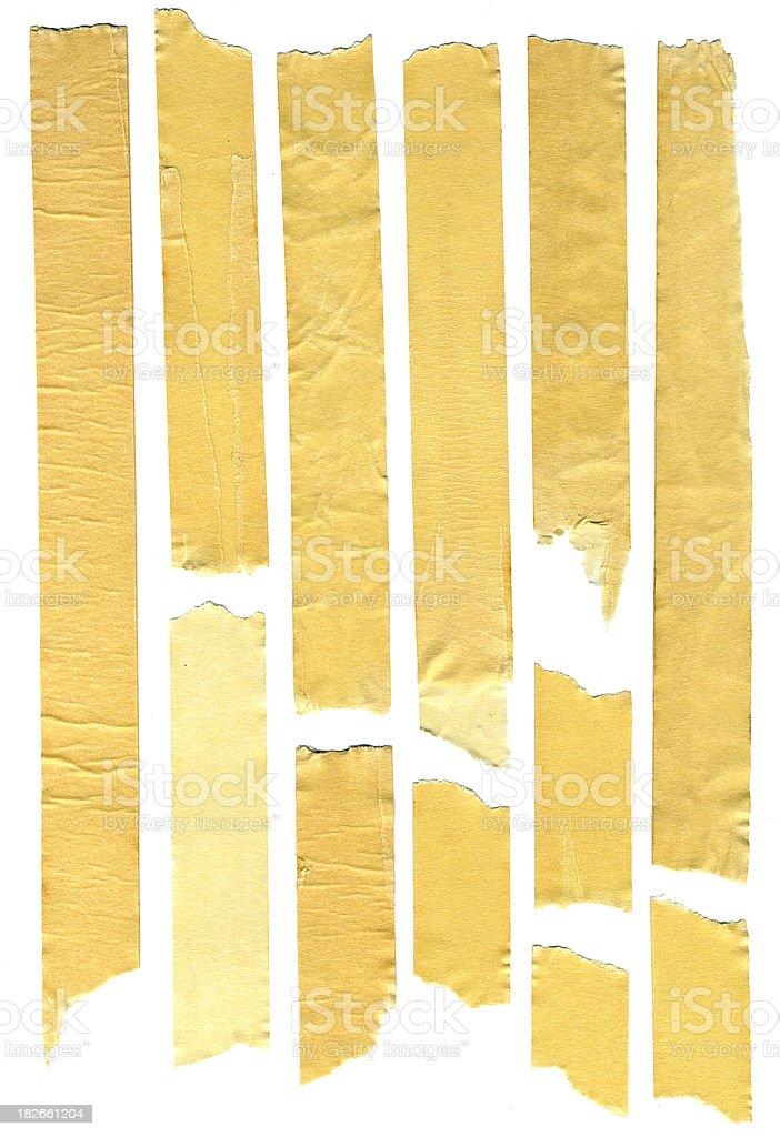 masking tape 1 royalty-free stock photo