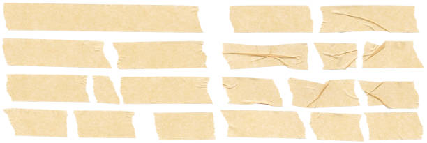 Masking Tape Collection stock photo
