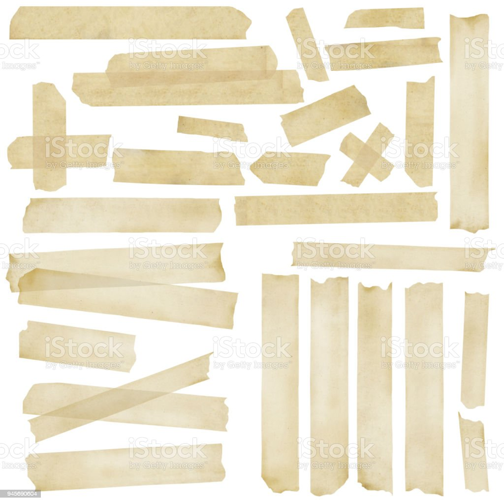 Masking Tape Collection - foto stock