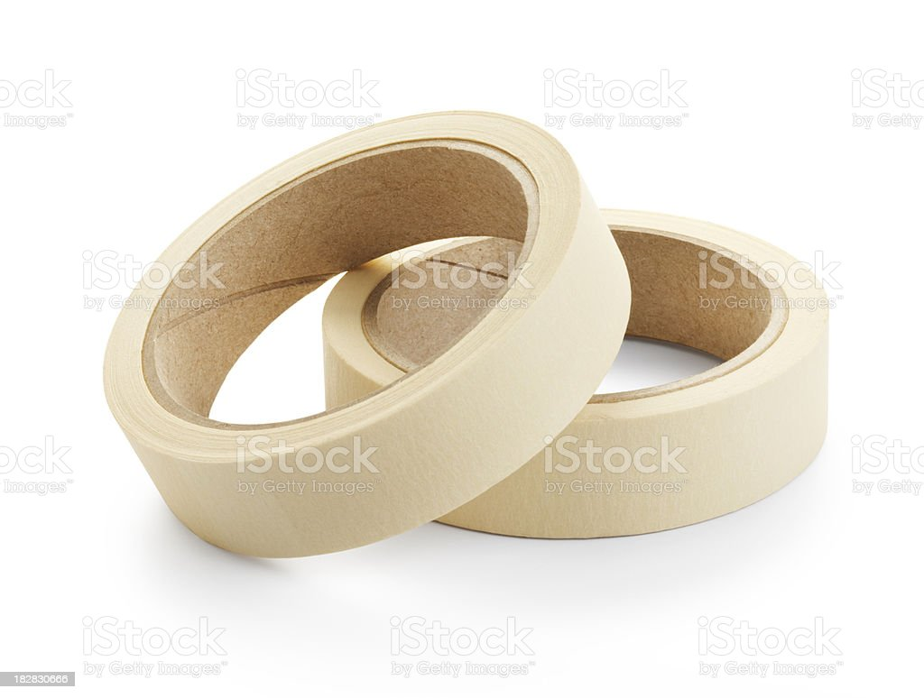 masking tape royalty-free stock photo