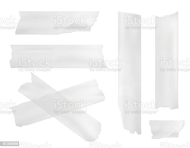 Fita De Encobrimento - Fotografias de stock e mais imagens de Branco