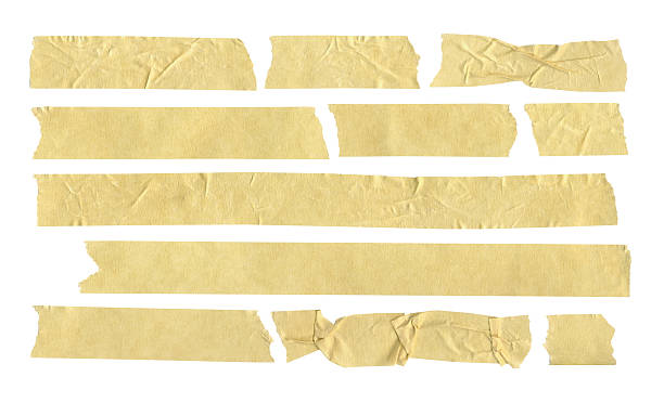 masking tape - adhesive tape stock photos and pictures
