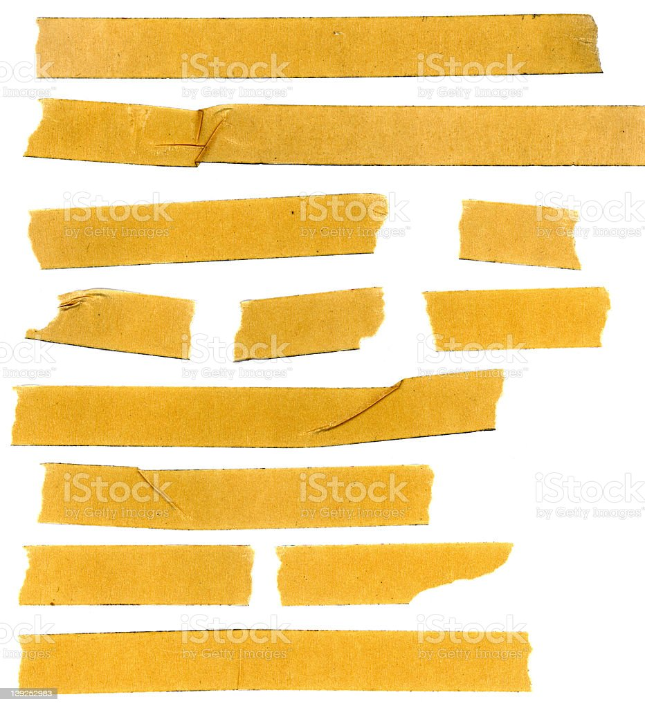 masking tape samples 2 royalty-free stock photo