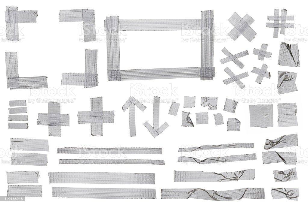 Masking Tape Samples stock photo