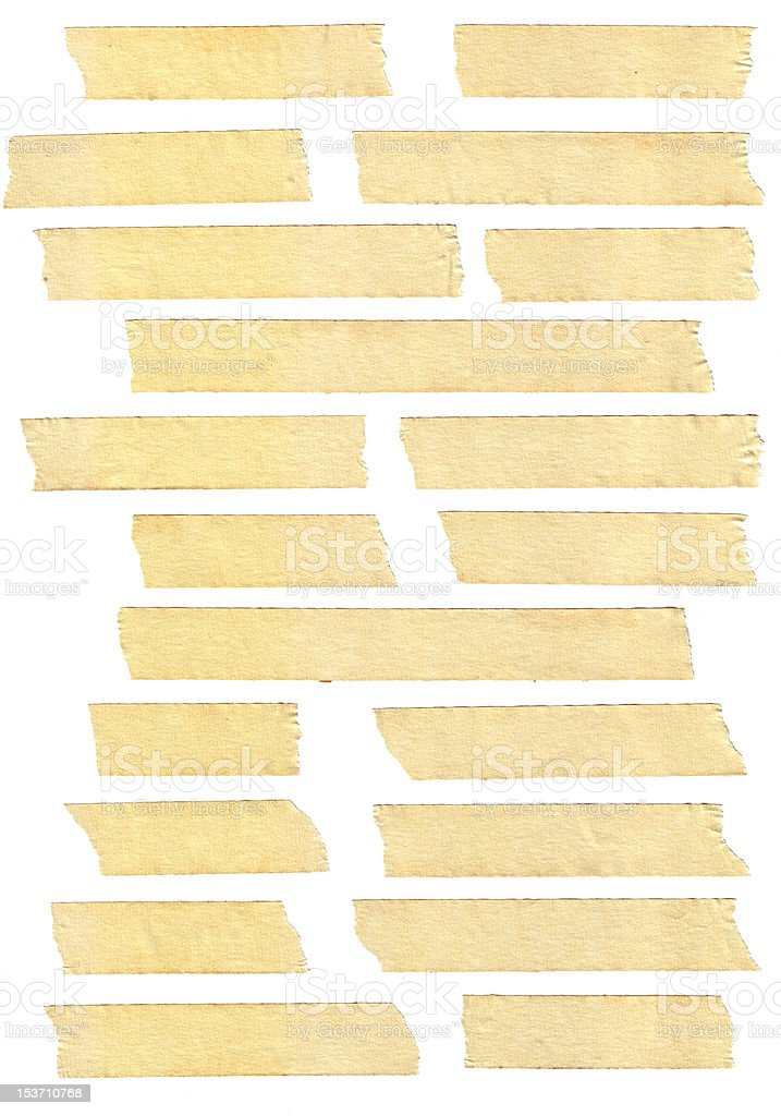 masking tape textures stock photo