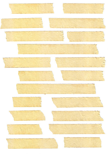 masking tape textures - adhesive tape stock photos and pictures