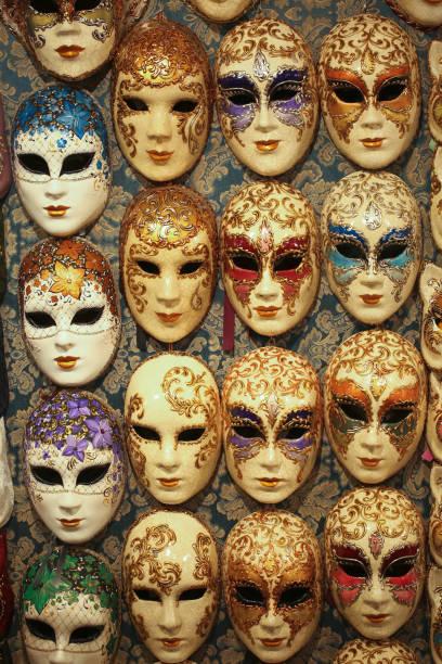 Masks in Venice stock photo