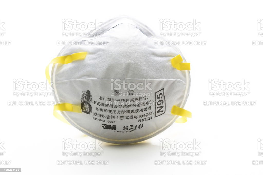 3M masks stock photo