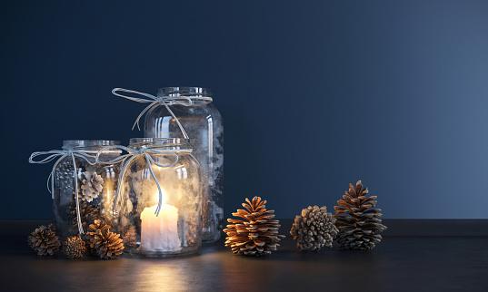 Mason Jar Stock Photo - Download Image Now