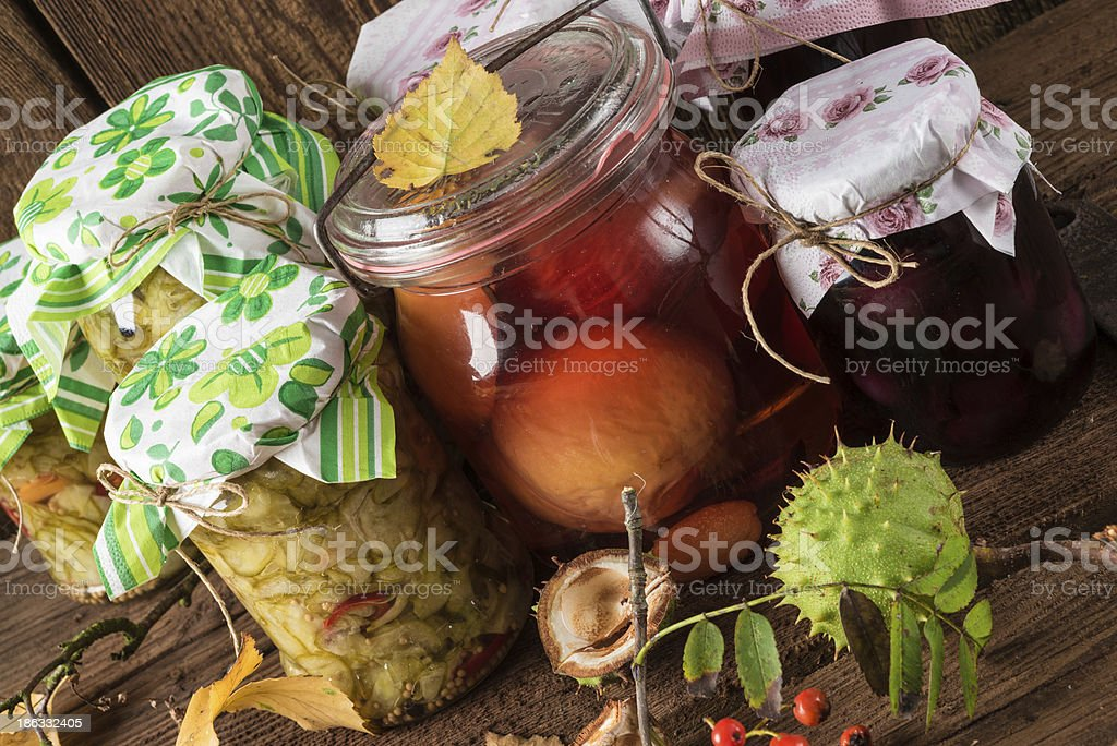 Mason jar royalty-free stock photo