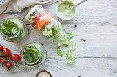 石工の瓶サラダ