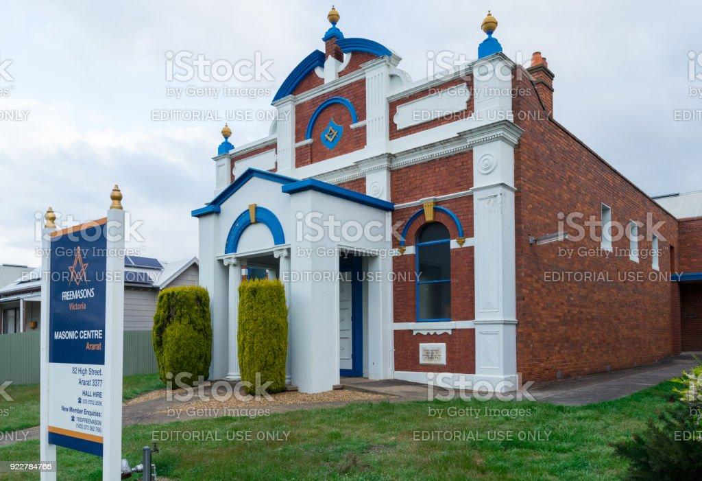 Masonic Centre In Ararat In Western Victoria In Australia
