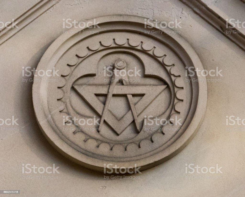 Masonic Symbol royalty-free stock photo