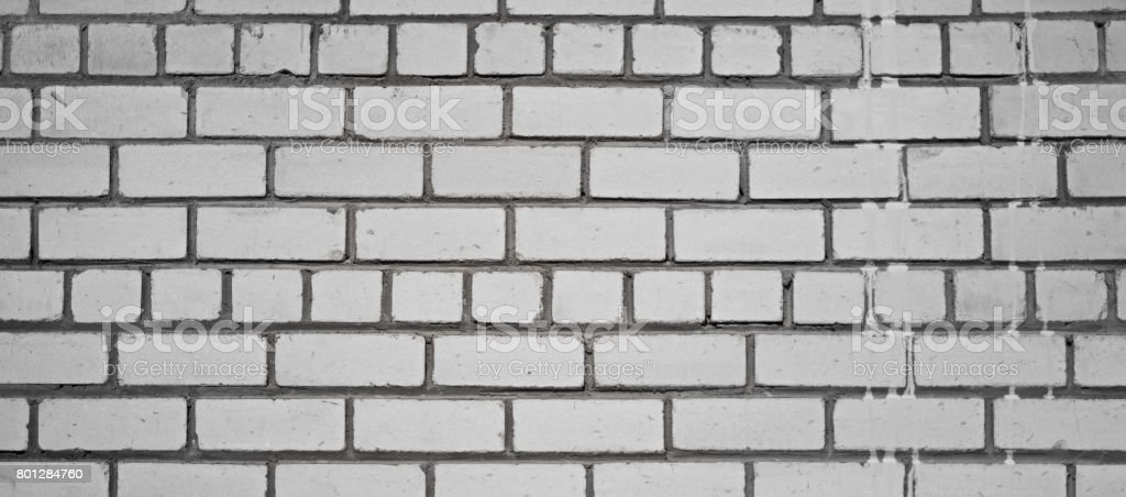 Masonry made of sand-lime bricks stock photo