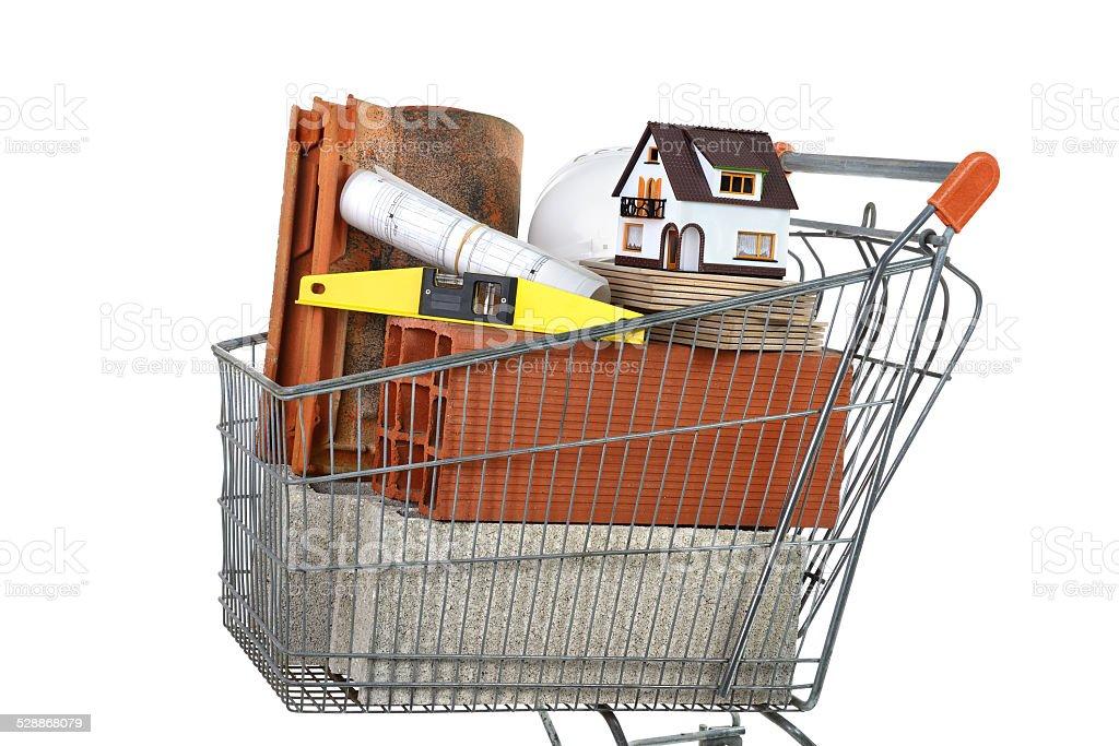 masonry materials stock photo
