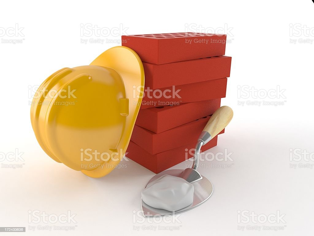 Masonry stock photo