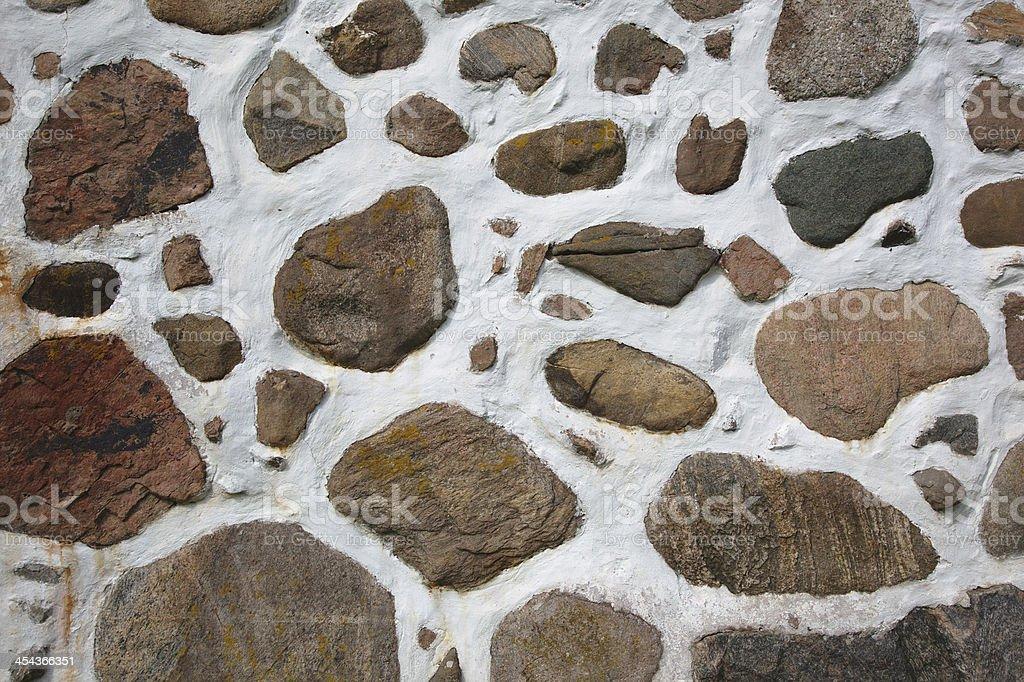 Masonry Stone Wall Background royalty-free stock photo