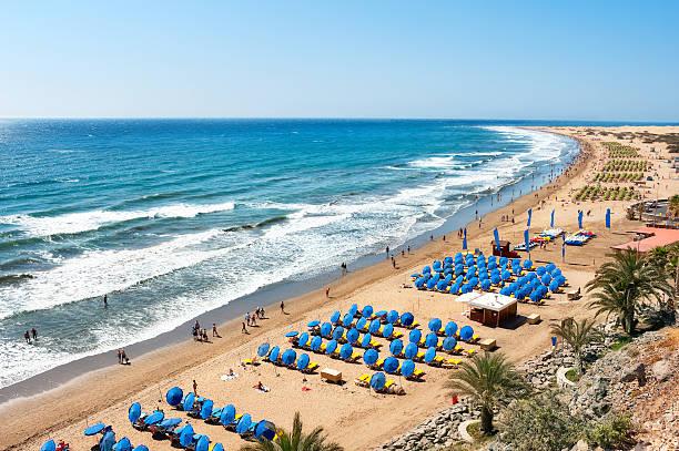 Maspalomas beach - foto de stock