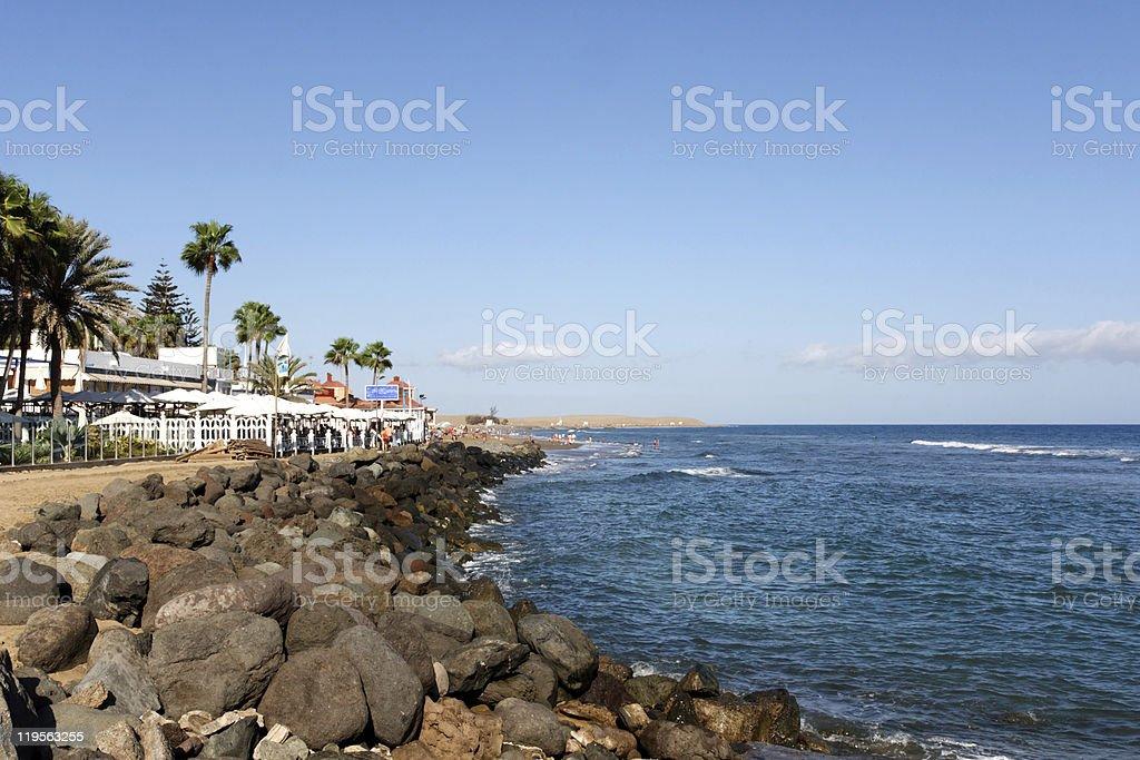 Maspalomas / Gran Canaria stock photo