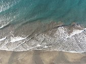 Aerial view of the Maspalomas shore.