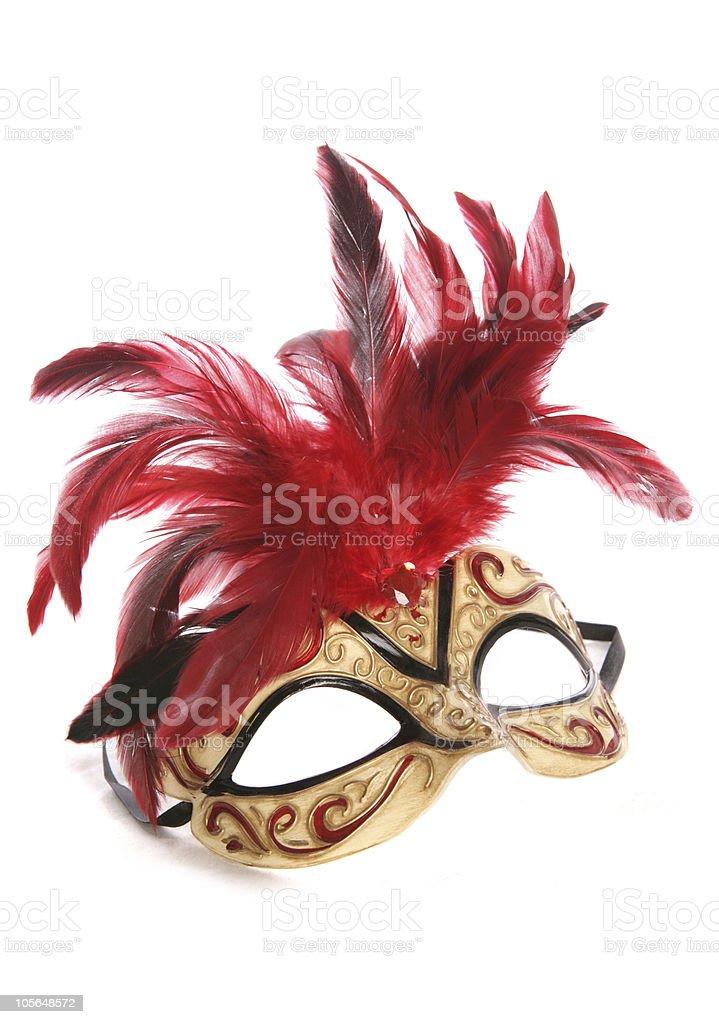 masquerade mask cutout stock photo