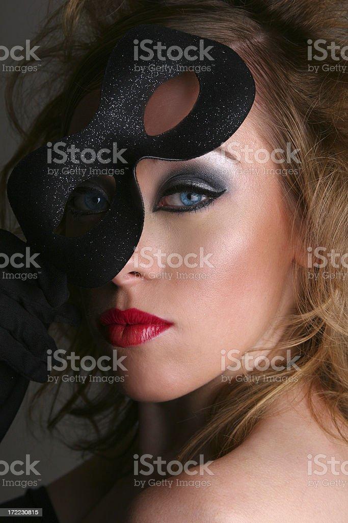 Masquerade - Megan royalty-free stock photo