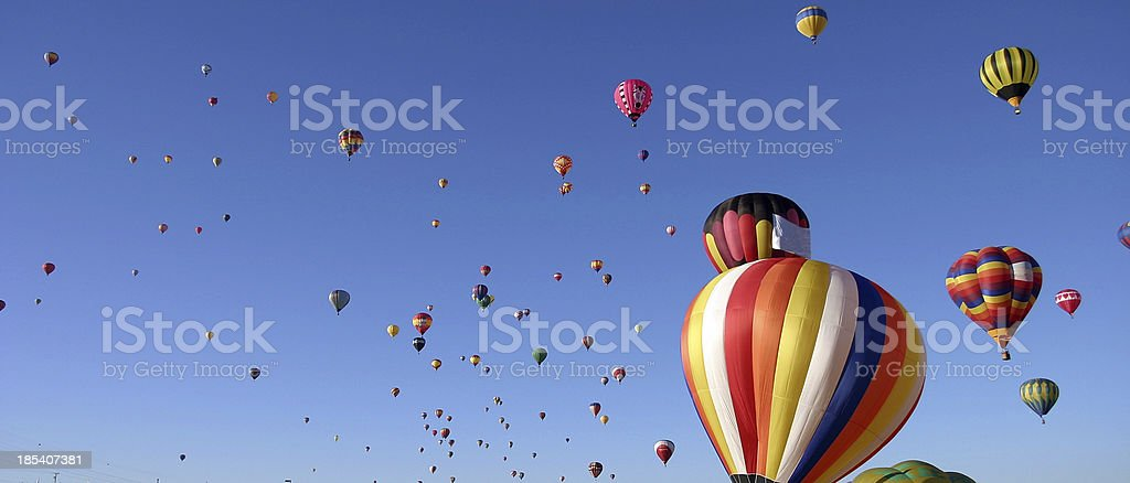 Mass Ascension 2 royalty-free stock photo
