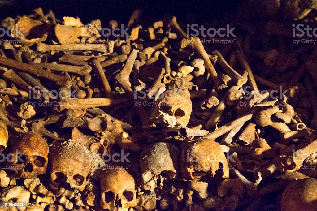 Mass Grave stock photo