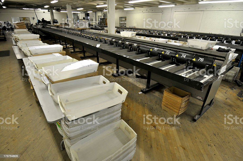 Mass Mail Operation royalty-free stock photo