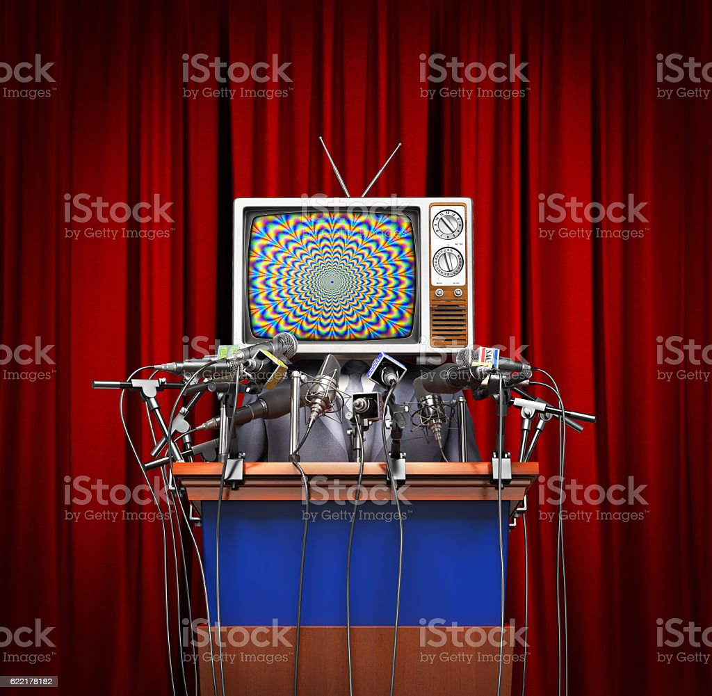 Mass media concept. - Royalty-free Business Stock Photo