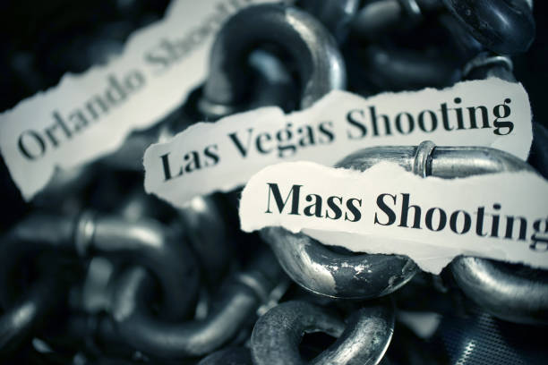 mass shooting shot of the word mass shooting mass murder stock pictures, royalty-free photos & images