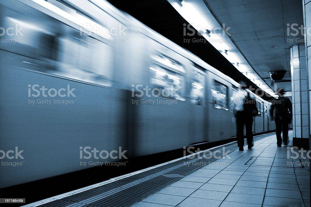 Mass Transit royalty-free stock photo