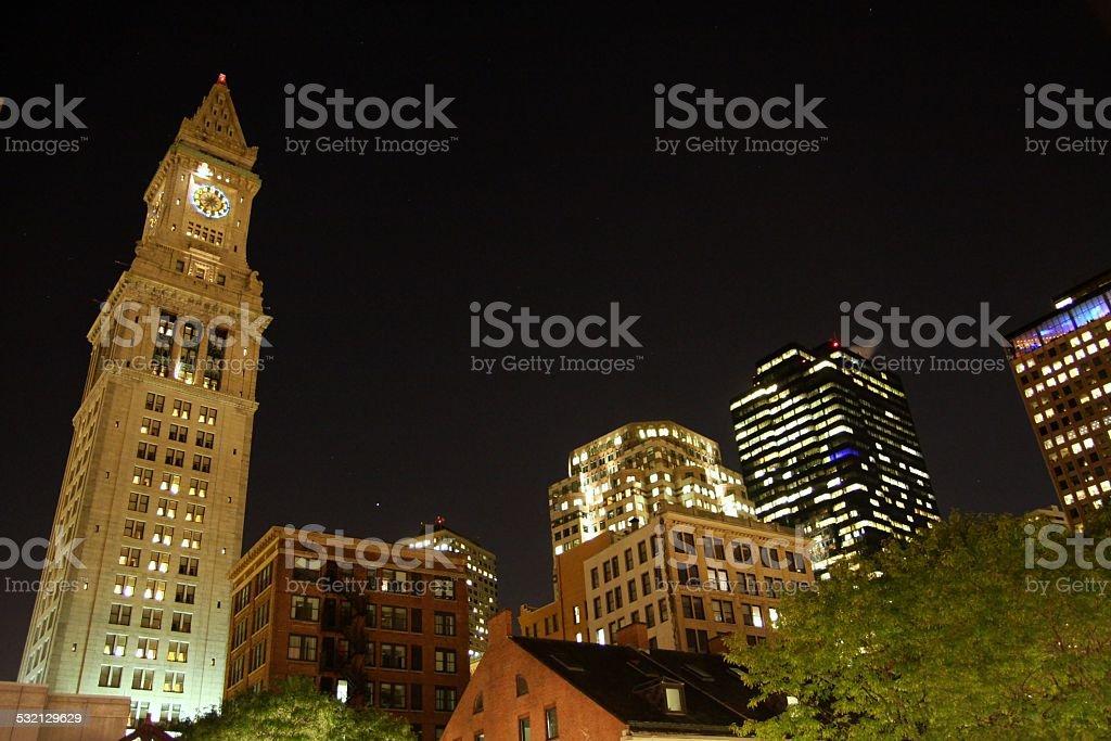 USA - Massachusetts - Boston, Custom House Tower stock photo
