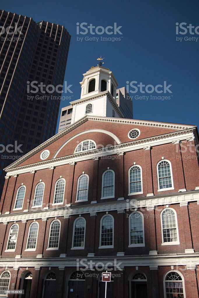 USA - Massachusetts - Boston, Faneuil Hall stock photo