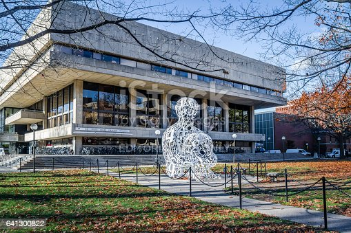 istock Massachusetts Institute of Technology (MIT) Alchemist Sculpture 641300822