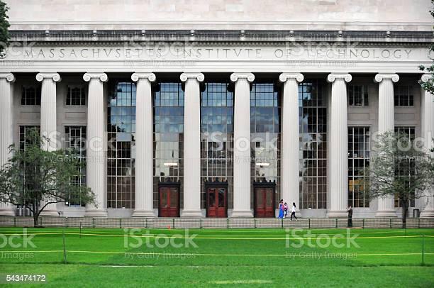 Instituto de Tecnología de Massachusetts, del MIT, Cambridge, MAMÁ, EE. UU. - Foto de stock de Aire libre libre de derechos