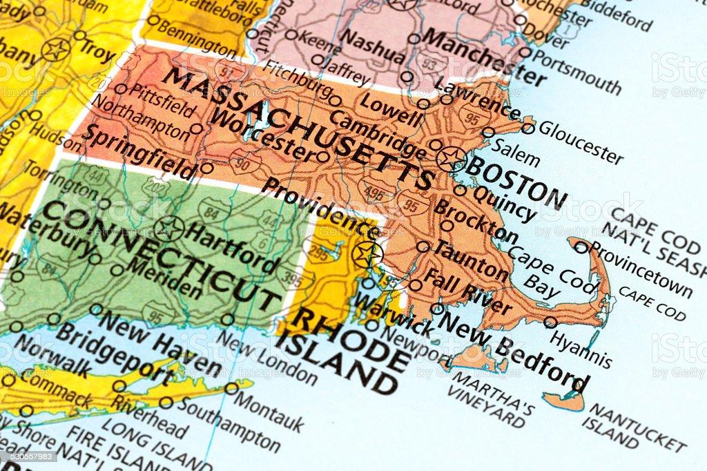 Massachusetts State stock photo