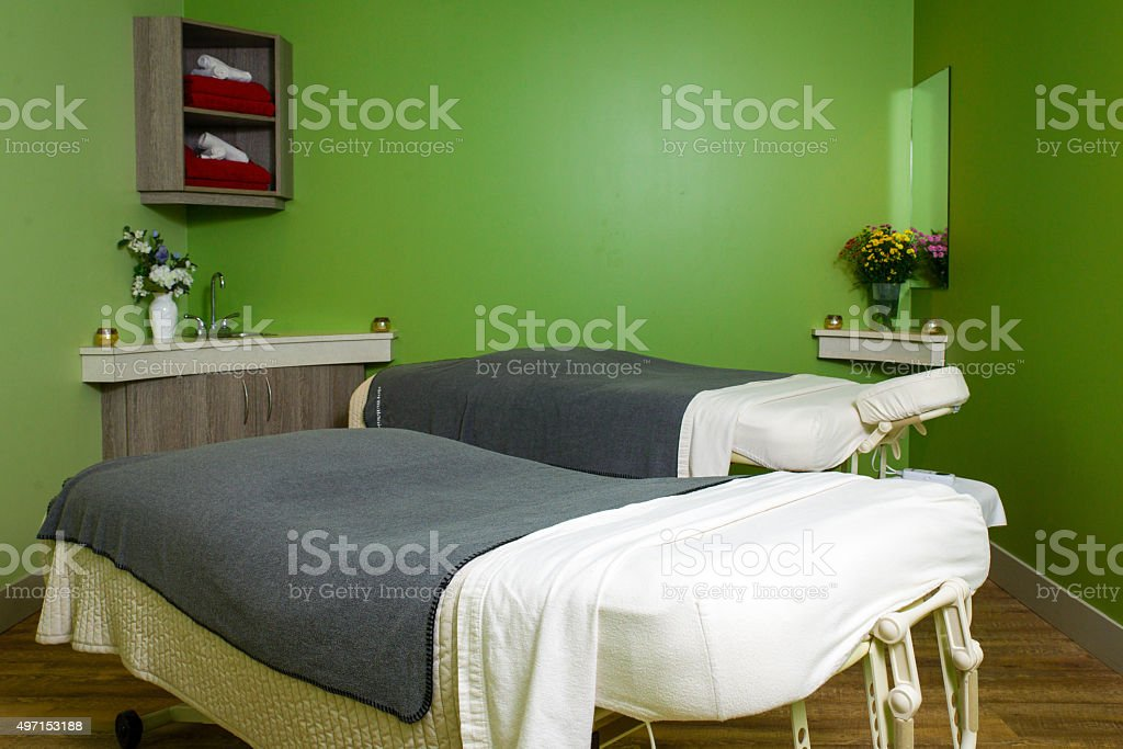 Massage and Spa Room stock photo