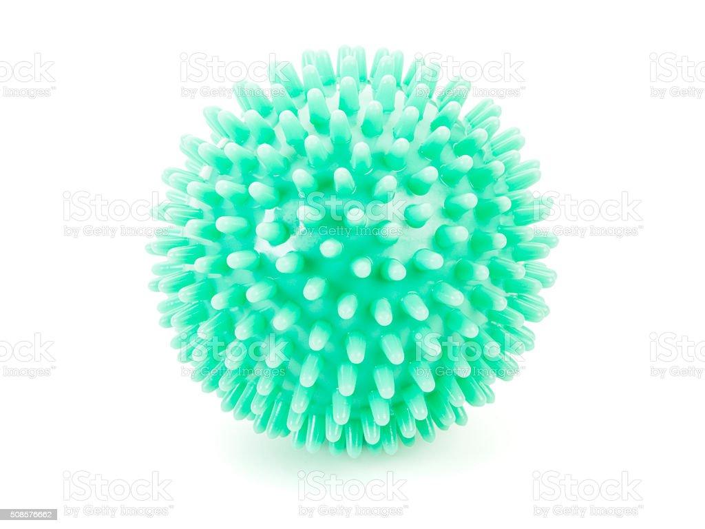 Massage Ball isolated stock photo