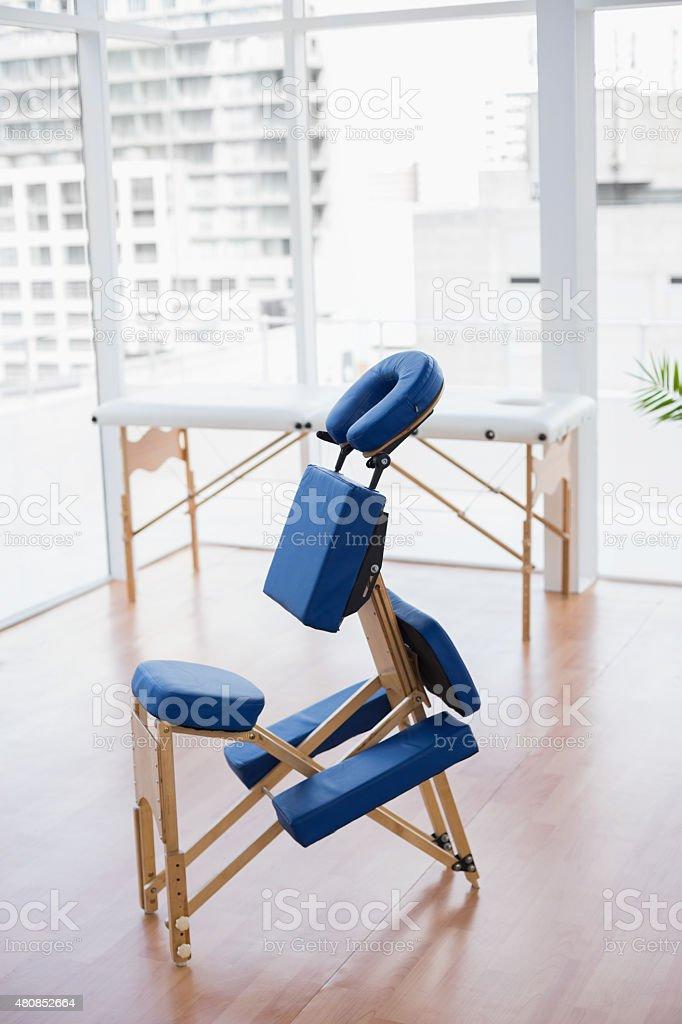 Massage chair stock photo