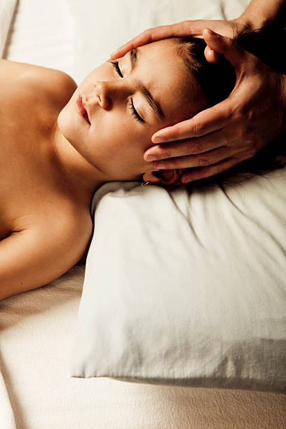 Royalty Free Asian Massage Girl Pictures, Images and Stock
